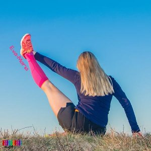 Pinke Stützstrümpfe Sport im xunt Onlineshop