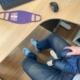 Stützstrümpfe im Home-Office